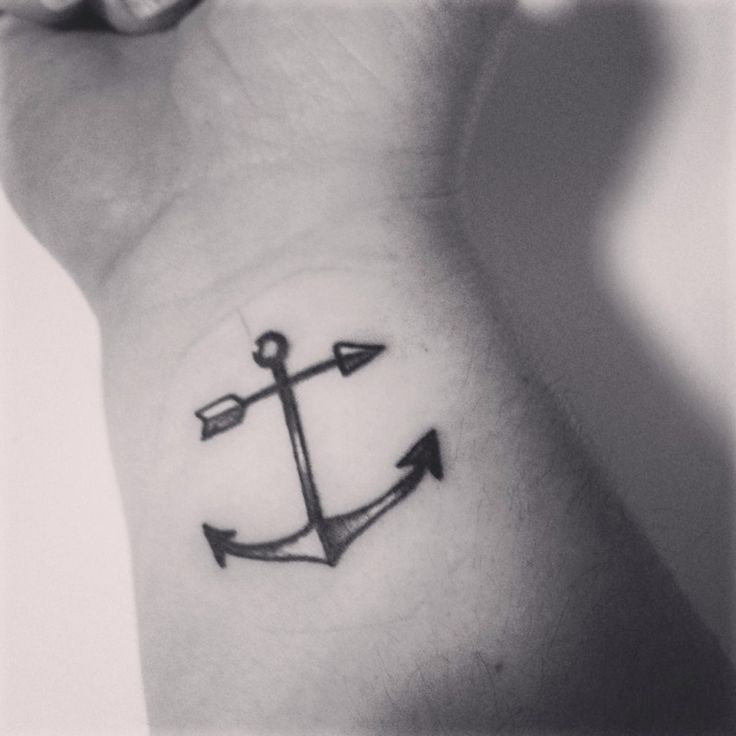 Ink… like the anchor with the arrow