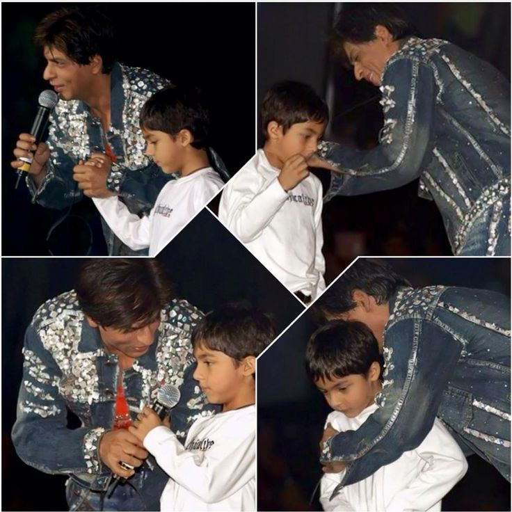 SRK is the truly best father ever ...  @iamsrk  I don't care what the others think ...