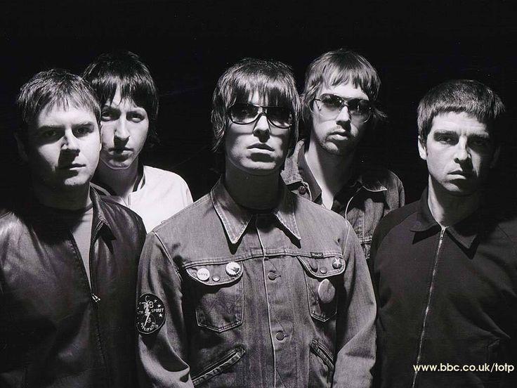 Oasis (Alan, Gem, Liam, Andy, Noel)