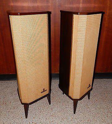 stereo speakers for sale used vintage grundig hi fi raumklangbox 14 speaker pair stereo