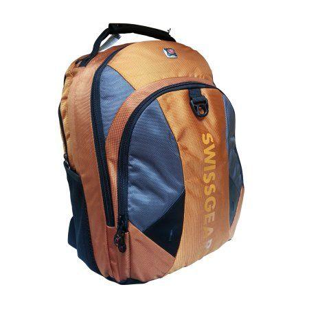 SwissGear Swiss Gear Pulsar Orange Polyester 16-inch Laptop Backpack