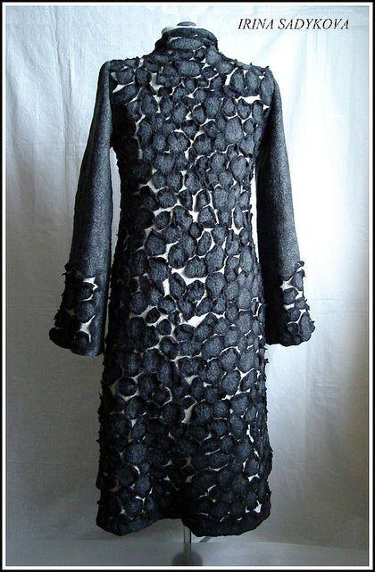 """Верхняя одежда ручной работы. Ярмарка Мастеров - ручная работа Пальто """"Камешки"""". Handmade."""