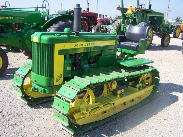 Old John Deere Tractors | 326: John Deere 420 Antique Crawler Tractor