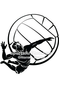 Sports Art Zoo - Beach-Volleyball-Spike #volleyball #sportsartzoo