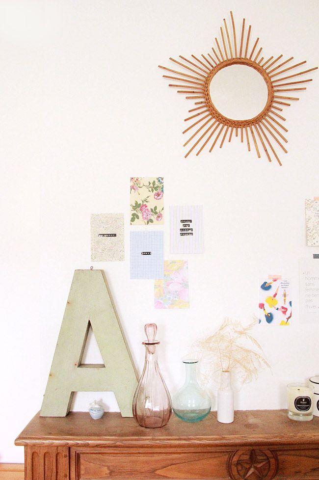 Poligöm / {DIY} Des cartes postales en tissu