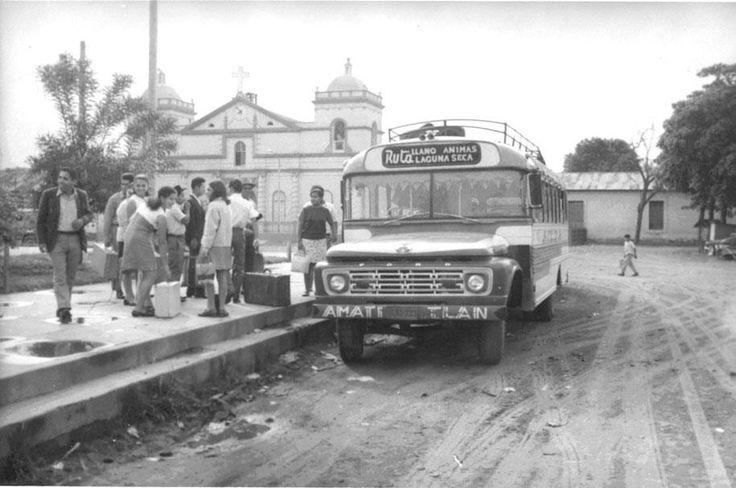 Parque de Amatitlán 1960