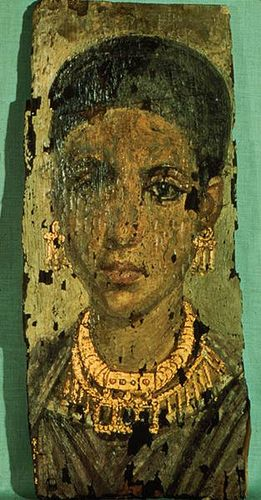 A Young Woman, ? , AD 98-117 (Ann Arbor, MI, Kelsey Museum of Archaeology…