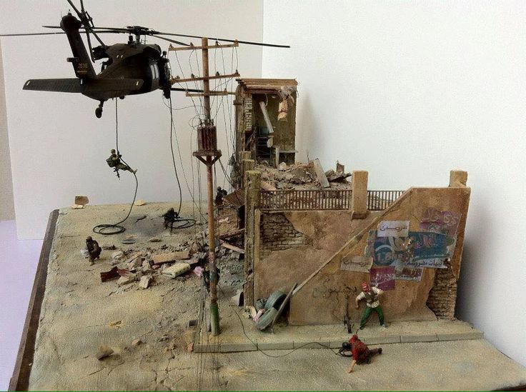 467 best military dioramas images on pinterest model for Scale model ideas