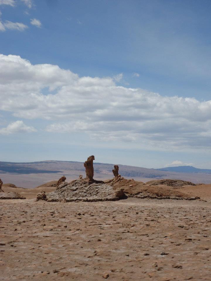 Valle de La Luna en San Pedro de Atacama, Antofagasta