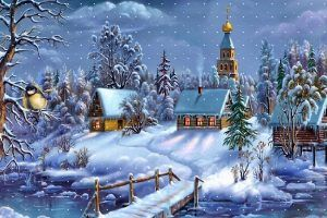 Christmas, Scenery, Wallpapers, Amazing Photos, Widescreen Wallpapers, Desktop Images, 1600x1000