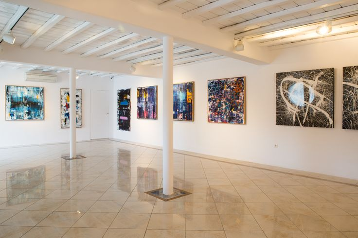 he Kivotos Art Projects is a series of contemporary art exhibitions featuring the works of distinguished Greek artists, in the fields of painting, sculpture, photography, video, multimedia, and installation.