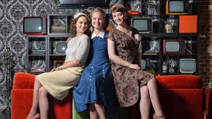 """Gorgeous costumes from the German miniseries """"Ku`damm 56"""""""
