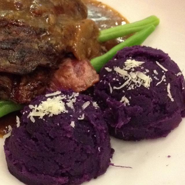 Ini ubi ungu, bukan ice cream!