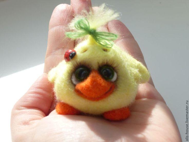 Купить Цып- коллекция - жёлтый, цыпленок, цыплята, весна, Пасха, подарок на Пасху, тепло, птичка