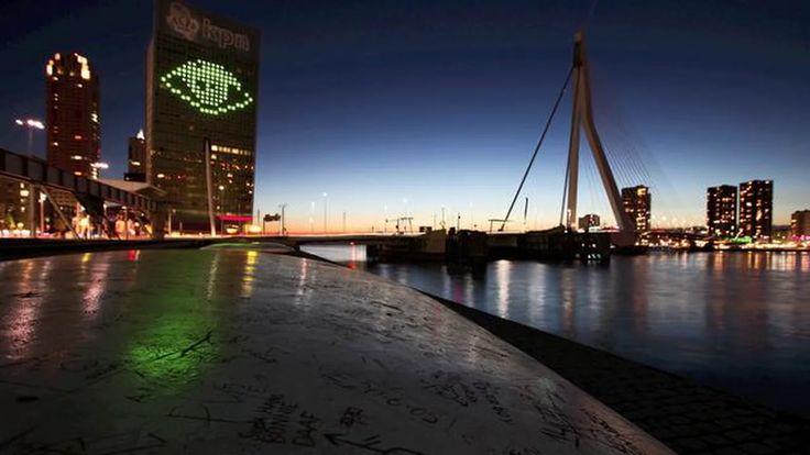 Timelapse of Rotterdam , first slider test