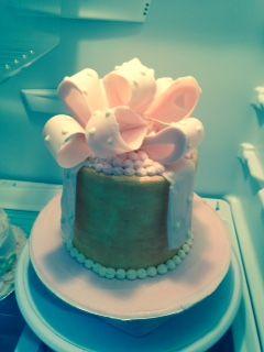 Chocolate Bow Birthday Cake