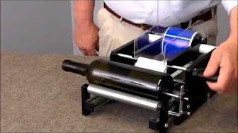 rotary label printing machine-2 - YouTube