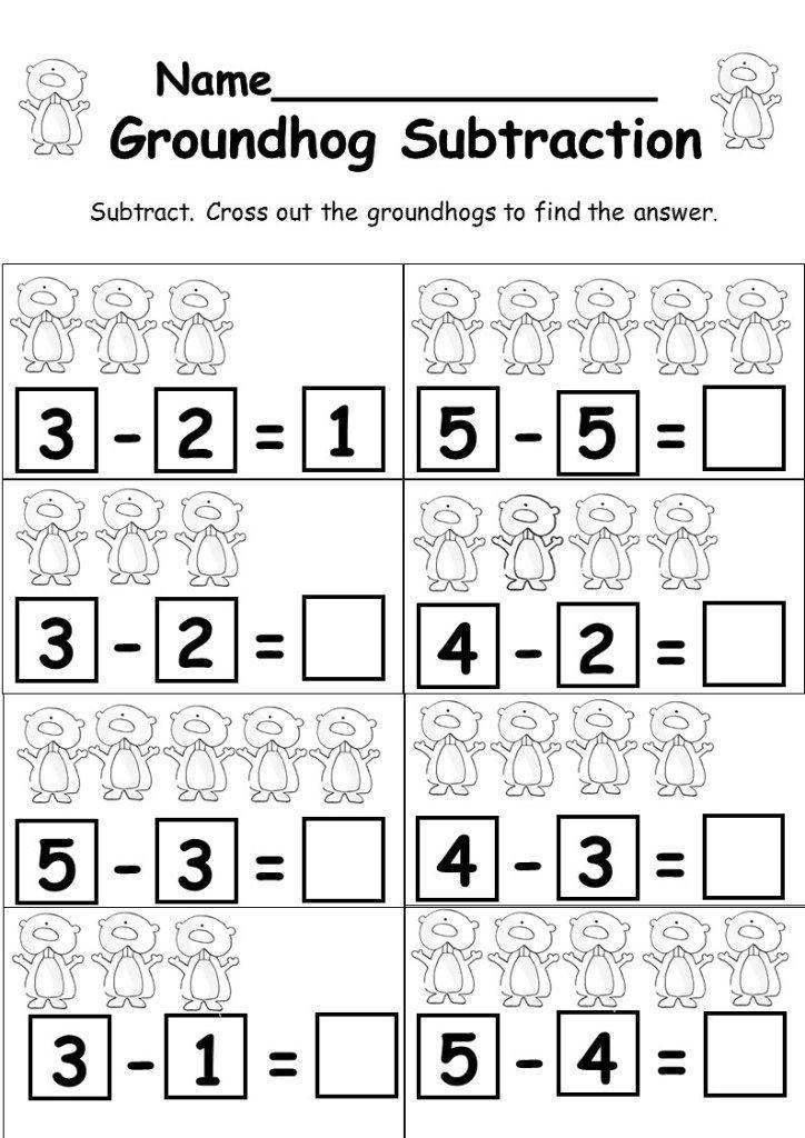 Kindergarten Subtraction Freebie With Images Kindergarten