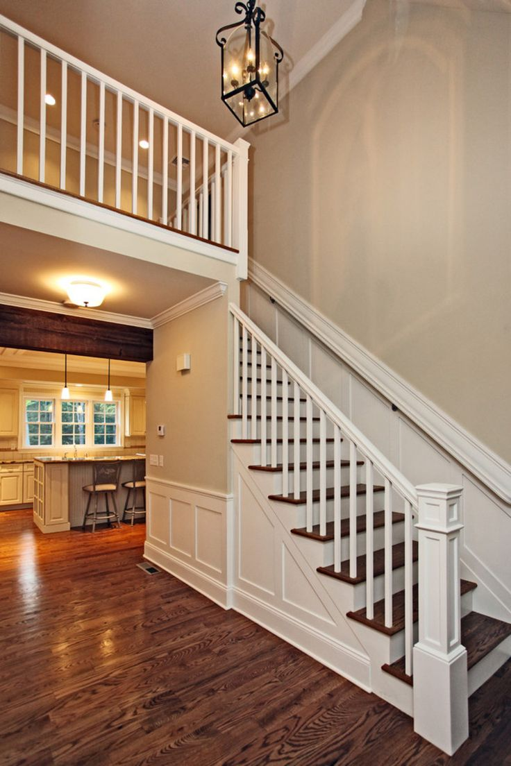 farmhouse staircase | Farmhouse Staircase Interactive ...