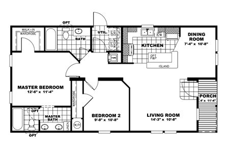 48 best images about house plans on pinterest for Modular homes under 1000 sq ft