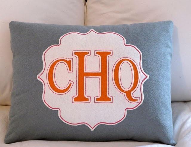 monogramed pillowDecor, Ideas, Bedrooms Design, Big Boys, Monograms Pillows, House, Cheap Bookcas, Diy, Shoes Racks