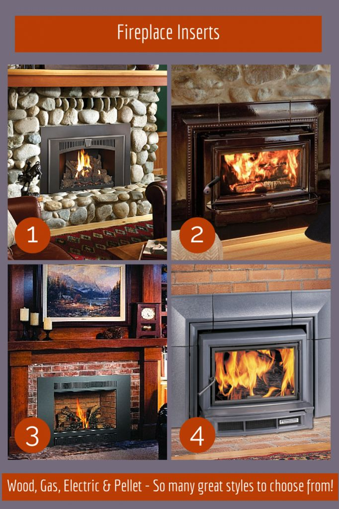 Fireplace-Inserts - available in a wide range of styles to complement any decor. Can be used in wood, electric, gas and pellet fireplaces.