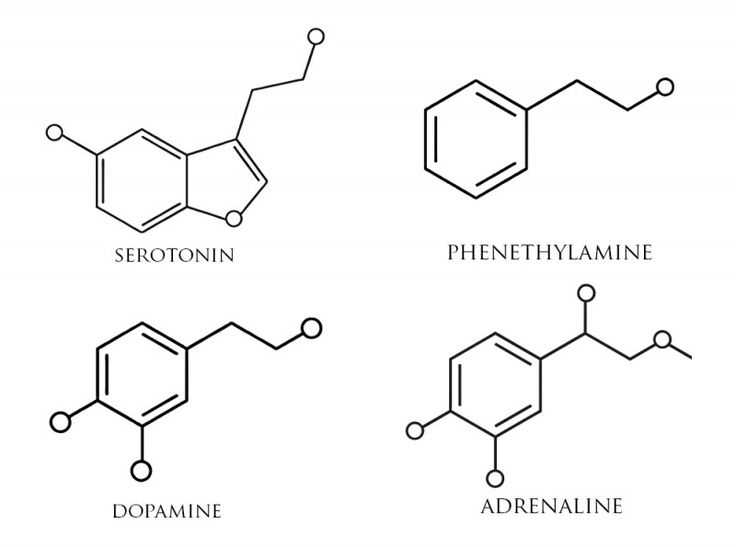 The only white ink tattoo that I'd want is the serotonin molecule