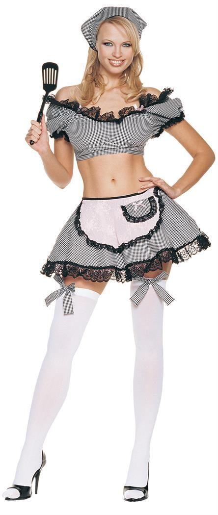CostumePub.com - Naughty Housewife #Halloweencostume