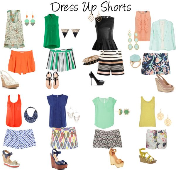Dress up shorts