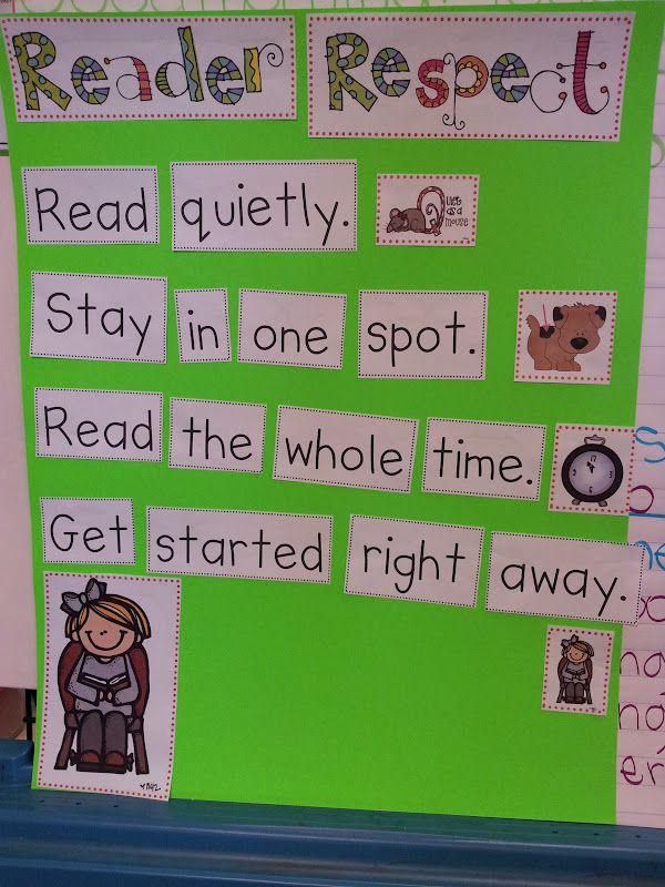 Chalk Talk: A Kindergarten Blog: Respectful Reading Behaviors and Building Stamina