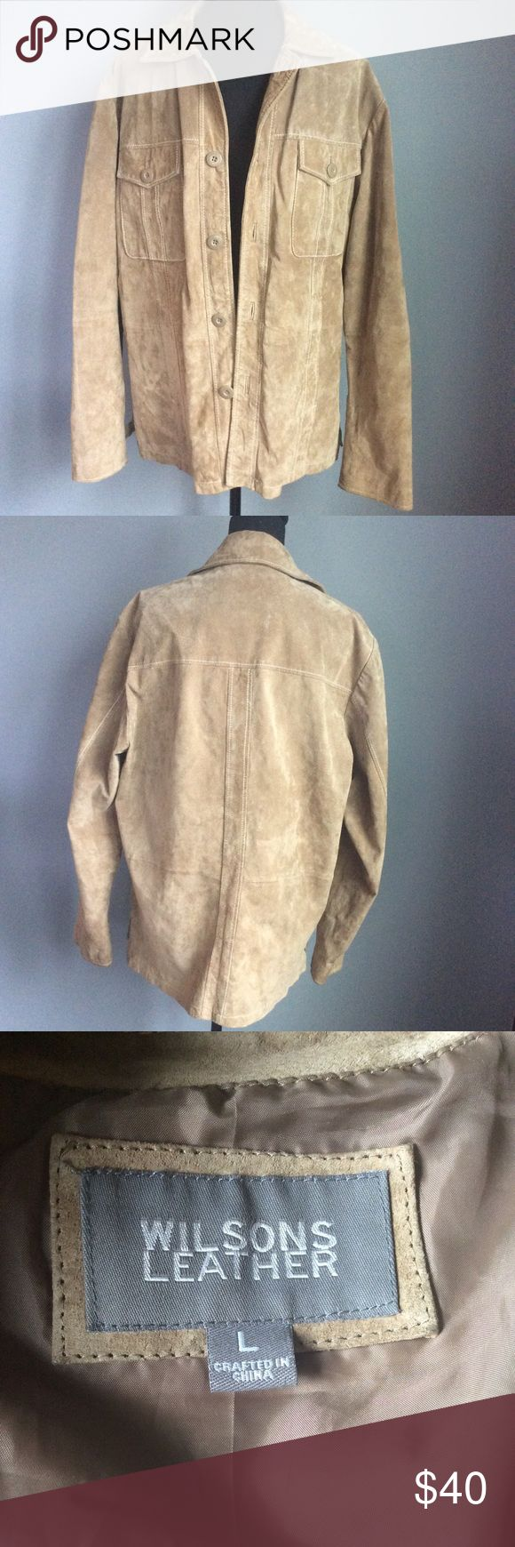 Vintage, Wilson's Leather, Suede Jacket Suede jacket