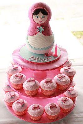 Babushka cake great for granddaughter