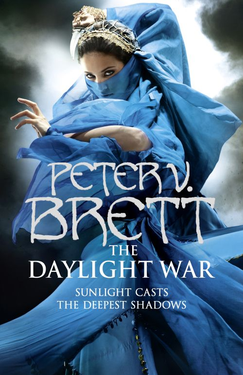 Books by Proxy | The Friday Face-Off  - The Daylight War by Peter V. Brett - UK cover by Larry Rostant