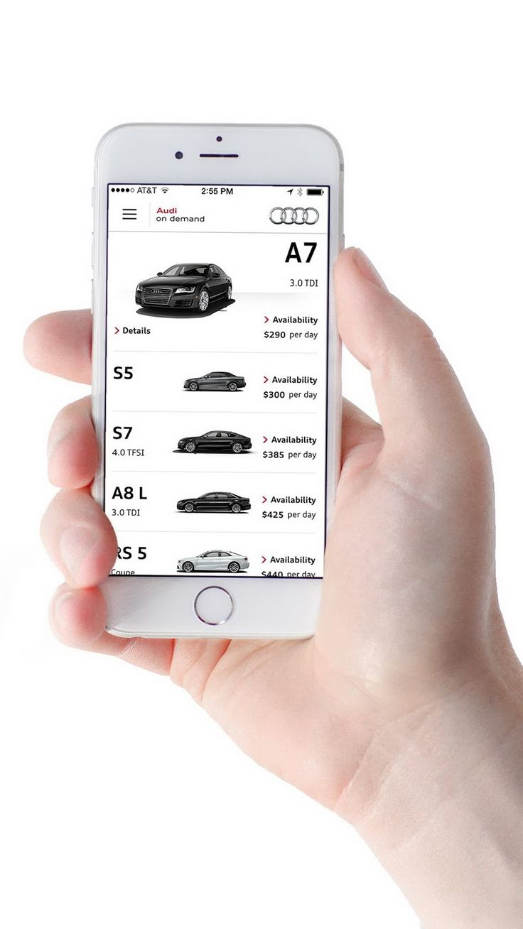 Audi launches personalized vehicle sharing program