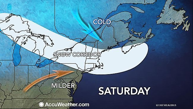 A train of storms will bring round after round of snow from the Upper Midwest to part of the Northeast this weekend into early next week. The biggest storm in the bunch will be the caboose in the train, set to affect the Northeast Sunday night into Monday night. The storms will bring episodes of snow every 12-24 hours or so from northern Minnesota and northern Michigan and southern Ontario to upstate New York, northern Pennsylvania, northern New Jersey and New England. In some cases, there…
