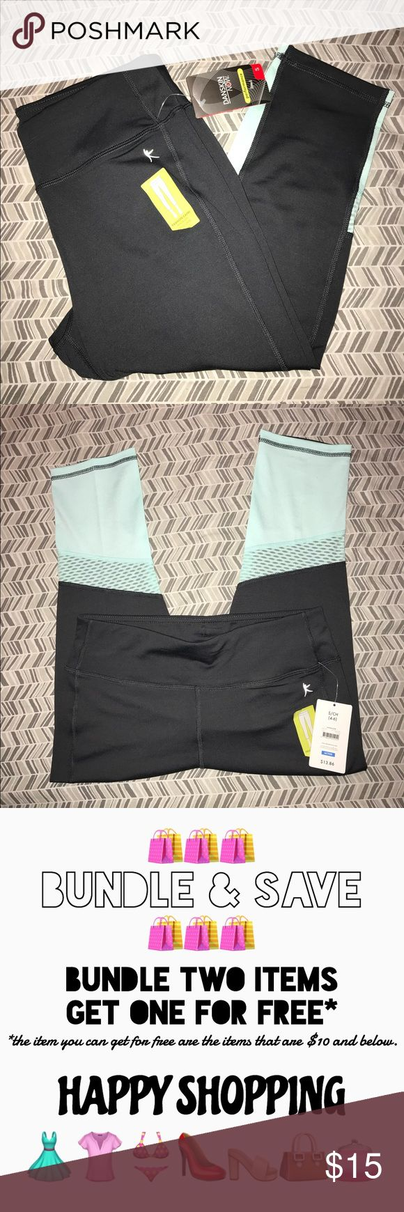 Yoga Capri Pants Size Small NEW WITH TAGS❗️ Mesh style at the calves. Color: Gray and mint  💁🏽Open to offers 🙅🏽But don't lowball 🚫Pet & Smoke free home🏡   For cheaper shipping, check out my eBay. 👤username: SLNSL91  My loss your gain 😉 Walmart Pants Ankle & Cropped
