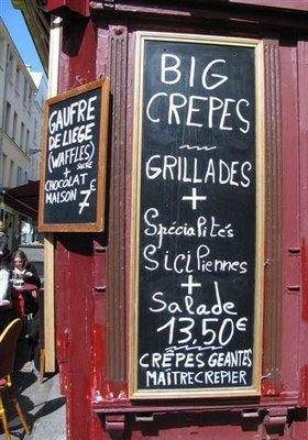 Crepes: Destination Paris, Destinations Paris, Crepes Idea