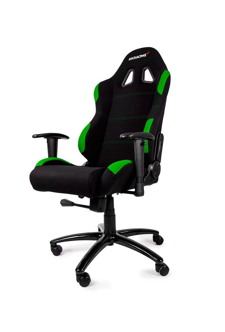 AKRACING Gaming Chair Black Green #WRGamers #AKRacing