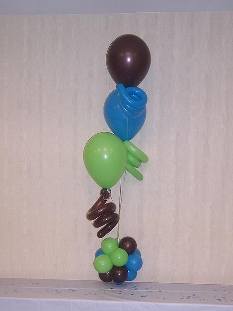 Balloons with squiggles: Balloon Art, Balloon Decor, Balloon Centerpieces, Balloon Ideas, Photo, Balloon Bouquets