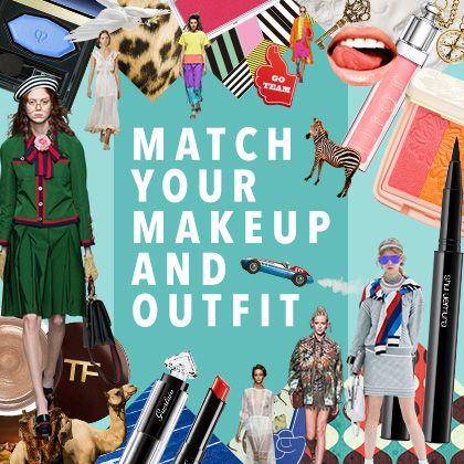 VOGUE japan 2016年春夏ファッションとマッチする、メイクはどんな傾向? あなたが気になるトレンドに ふさわしい、買い足すべき新色コスメを診断します。