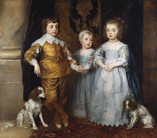 Генетическая любовь к собакам - КАНАДСКИЕ ЗАРИСОВОЧКИ: -  королевские  дети  со  спаниелями.