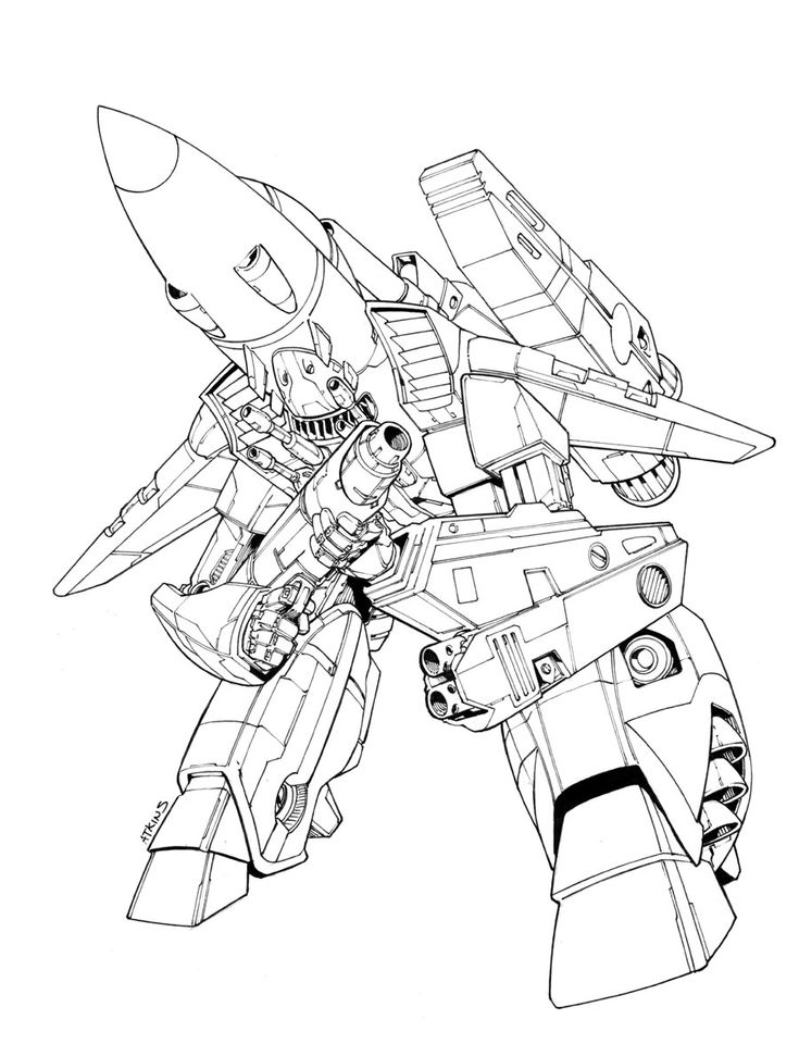 robotech sketch that i had worked on previously i finally got around to inking this thing in you can check out what i was talking about here link