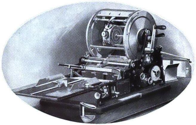 copy machine purple ink