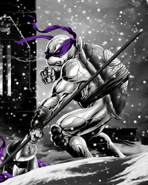 Donatello: Cold Blooded by Damon Bowie Art