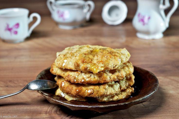 Ovsené koláčiky s medom a grepom