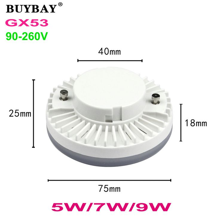 $4.14 (Buy here: https://alitems.com/g/1e8d114494ebda23ff8b16525dc3e8/?i=5&ulp=https%3A%2F%2Fwww.aliexpress.com%2Fitem%2FBUYBAY-GX53-LED-lamp-5W-7W-9W-downlight-ultra-bright-led-bulb-SMD5730-22LED-34LED-spotlight%2F32775124769.html ) BUYBAY GX53 LED lamp 5W 7W 9W downlight ultra bright led bulb SMD5730 22LED-34LED spotlight warm white/white 90-260V no flicker for just $4.14