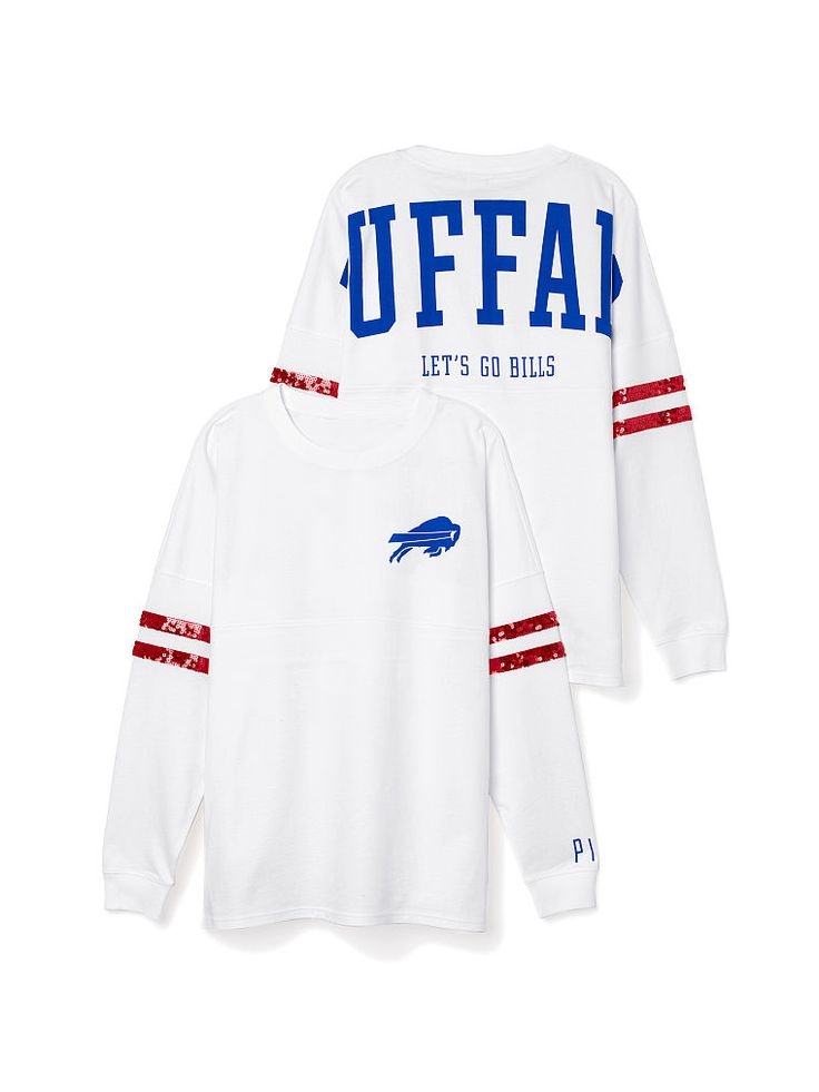 Buffalo Bills Bling Varsity Crew - PINK - Victoria's Secret