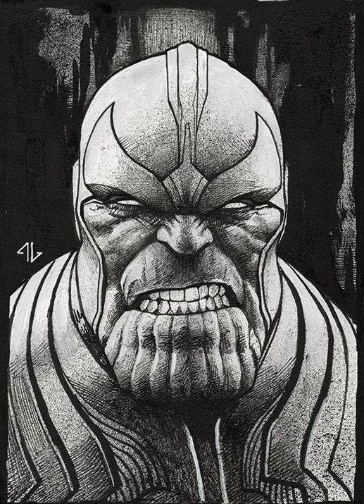 Thanos by Adi Granov *
