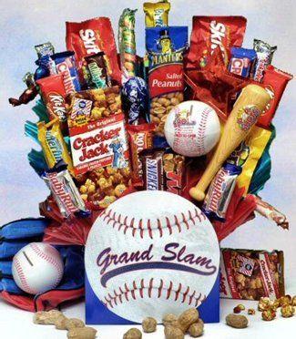 14 best baseball gift basket images on pinterest baseball gift gift baskets with a sports theme gift ideas negle Choice Image