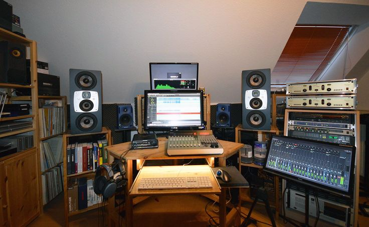 2 x eve audio sc407 home studio tubeyou studio berlin of musician sound engineer markus. Black Bedroom Furniture Sets. Home Design Ideas